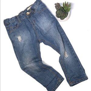 Zara Baby Girl Jeans 12-18 Months